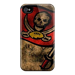 Kte1702Dqsm Tpu Case Skin Protector For Iphone 4/4s Tampa Bay Buccaneers With Nice Appearance