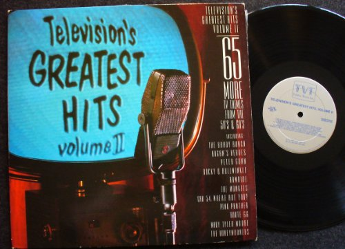 Price comparison product image Television's Greatest Hits volume II / 65 More TV Themes from the '50's & '60's; 2 LP