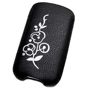 Funda Pochette de piel sintética L para Blackberry Bold 9790