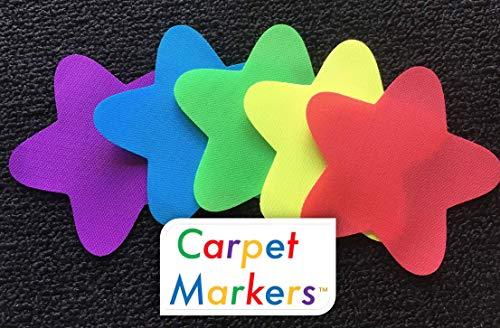 CARPET MARKERS for Teachers, Educators (30 Pack of Stars) | The Original CARPET MARKER