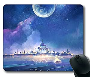 The Moon Kingdom Rectangle mouse pad by Custom Service Your Best Choice