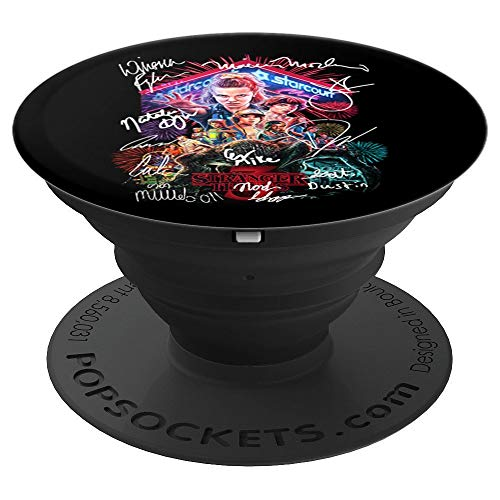 Signature Kid Movie Fan Stranger Style Pop Culture Things 11 PopSockets Grip and Stand for Phones and Tablets ()