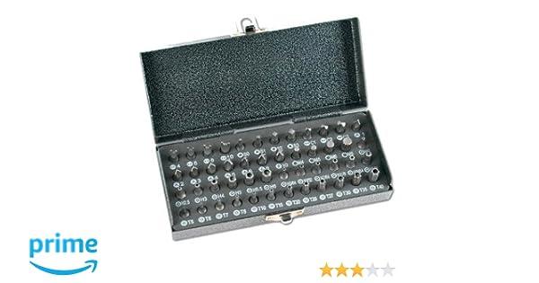Mannesmann - M29832 - Juego de puntas de destornillador, 48 piezas: Amazon.es: Bricolaje y herramientas