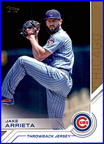 cheaper acd22 648fd 2017 Topps Salute #S32 Jake Arrieta CHICAGO CUBS THROWBACK ...