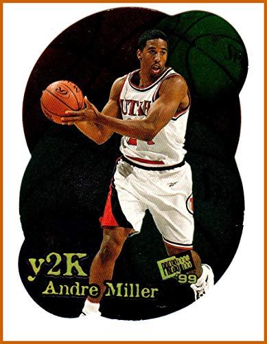 1999 Press Pass Y2K #Y7 Andre Miller UTAH UTES SERIAL (2000 Press Photo)