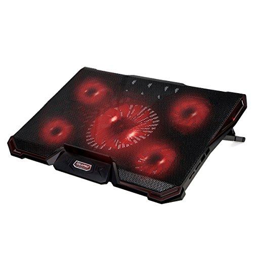 5 fan laptop cooling pad - 9