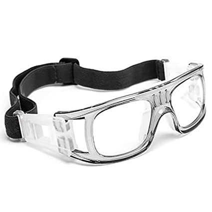 009895af5cca Professional Sports Goggles Protective Safety Goggles Basketball Glasses  for Men with Adjustable Strap for Basketball Football