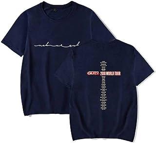 WEY T-Shirt, Got7 Stampa T-Shirt a Maniche Corte, T-Shirt Casual per Uomo e Donna