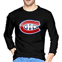Montreal Canadiens Mans Popular Long Sleeve Funny Design Graphic T Shirts Printing