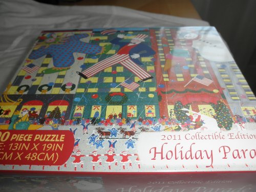 - Briarpatch 2011 Collectible Edition Holiday Parade 500 Piece Puzzle