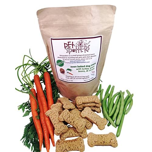 Petspotters Turkey Dog Treats Natural and Oven Baked hot sale
