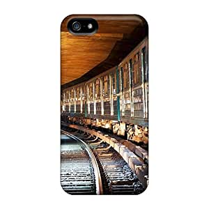 JohnRDanie Case Cover For Iphone 5/5s - Retailer Packaging Hdr Subway Protective Case