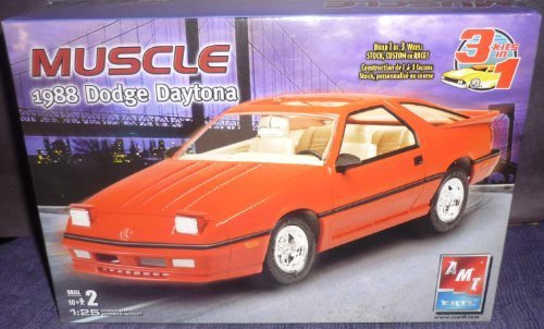 Shelby 1988 Dodge (AMT 1/25 1988 Dodge Shelby Daytona by AMT Ertl)