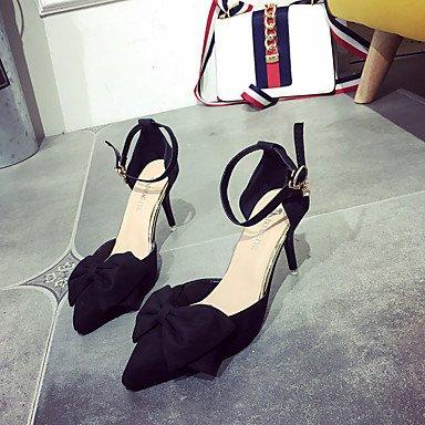 Confort cm Marche Moins Rose Lacet Femme Noir 5 Amande ggx black Talons Polyuréthane à LvYuan Chaussures de Gris Confort Bas Talon Eté 2 z1w8Tq