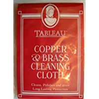 Brass And Copper Cleaning Cloth Cleans And Polishes Fast Postage by Tableau