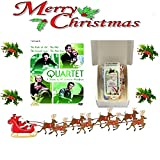 Christmas Gift Pack - Quartet: The Facts of Life / The Kite / The Colonel's Lady / The Alien Corn [NON USA FORMATTED VERSION REGION 2 DVD] + Ye Old Cornish Christmas Sweets Gift Bag