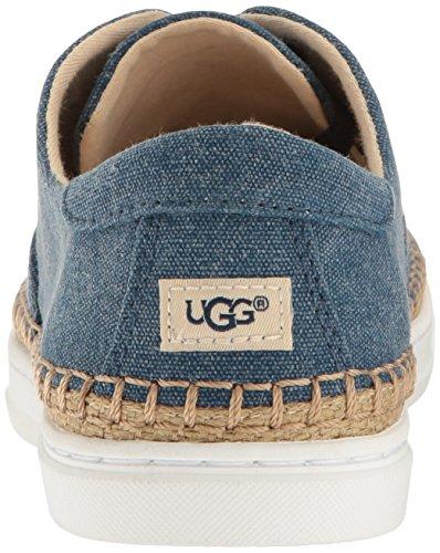 Ugg Womens Eyan Ii Canvas Fashion Sneaker Blu Scuro