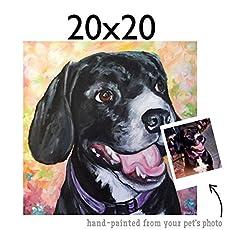 1d7ee07151cc Melissa Smith Art Pet Portrait Paintings | Amazon Handmade