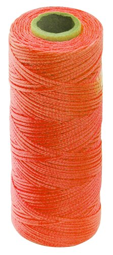 Empire Level 39813N Construction Line, 1000 Feet, Orange Braided