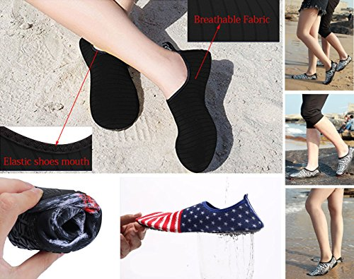 Dry Water Quick Water Aqua Surf Womens for Shoes Swim Beach Aerobics Cosstars Shoes Pool Mens Socks Yoga Shoes 8A0w11x