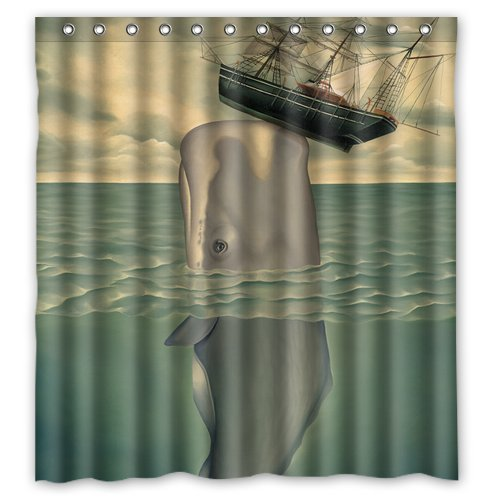whale shower curtain - 9