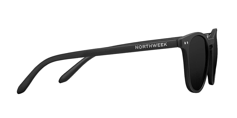 Northweek Wall All Black Gafas de sol, Negro (Matte Black/Black Polarized), 45