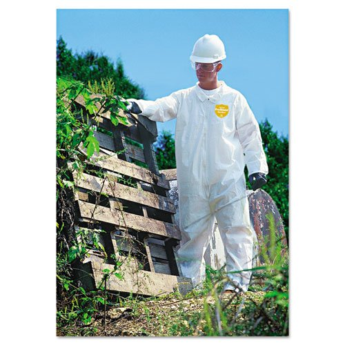 Proshield Nexgen Coveralls (Dupont ProShield NexGen Coveralls, Zip Closure, Large, 25/Carton (DUPNG120SL))