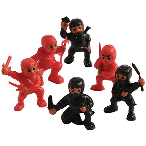 U.S. Toy Lot of 12 Assorted Ninja Action Figure Toys -