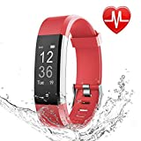 Fitness Tracker HR, Letscom Activity Tracker with Heart Rate Monitor Watch, IP67 Waterproof