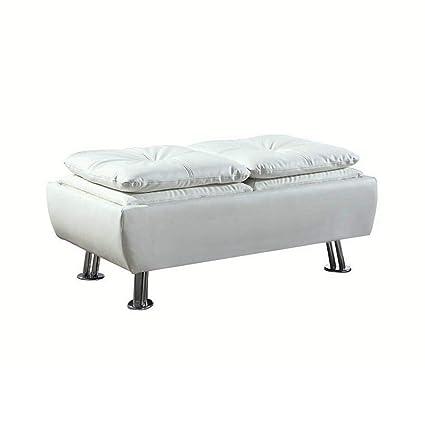 Wondrous Amazon Com Diamond T Contemporary Storage Ottoman Bench Machost Co Dining Chair Design Ideas Machostcouk
