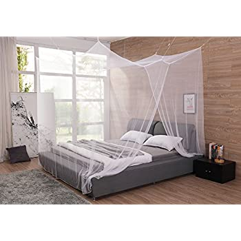 Extra Large Mosquito Net Canopy for King and Cal King Bed No Drills Screws for  sc 1 st  Amazon.com & Amazon.com: Extra Large Mosquito Net Canopy for King and Cal King ...