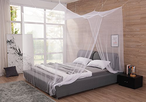 Cheap  Extra Large Mosquito Net Canopy for King and Cal King Bed, No..