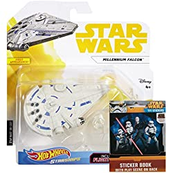 Hot Wheels Star Wars - Solo: A Star Wars Story Edition - Millennium Falcon w/ BONUS Star Wars stickers!