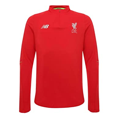 aeb81ab4f7d Liverpool FC 18 19 Kids Mid Layer Football Top - Red - Size MB   Amazon.co.uk  Clothing