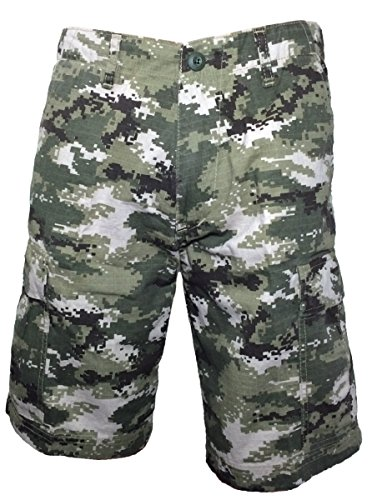 Ranger Return Subdued Urban Digital Camo Military BDU Shorts Vintage ACU Ranger (Medium)