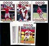 2008 Topps Cincinnati Reds Series 1&2 Baseball Cards Complete Team Set of 21 cards including Ken Griffey Jr, Edinson Volquez, Johnny Cueto, Joey Votto and more !