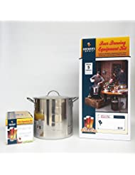 Brewer S Best Deluxe Equipment Kit With American Cream Ale Beer Ingredient Kit And 20 Qt Stainless Steel Brew Kettle