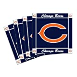 NFL Chicago Bears 4-Pack Ceramic Coasters