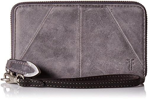 FRYE Jacqui Zip Around Phone Wallet, Slate by FRYE