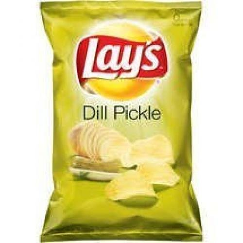 40-bags of Lay's Dill Pickle 40g Each Bag, Made in Canada