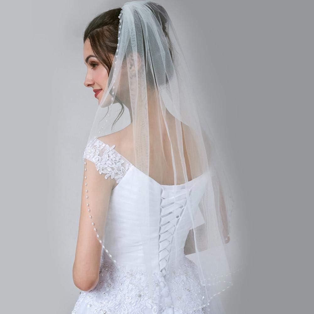 QXX Europ/äische Stil Braut Mesh Garn Kopfbedeckung mit Schleier Bankett Partei Feder Haar Zubeh/ör Hut Farbe : Beige