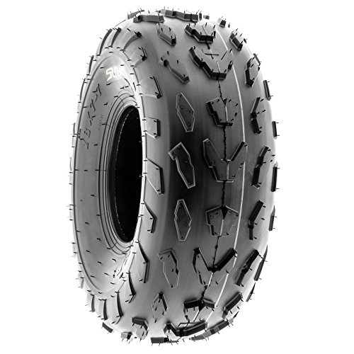 SunF 18x7-7 18x7x7 ATV UTV A/T Quad Race Replacement 4 PR Tubeless Tires A007, [Set of 2] by SunF (Image #6)