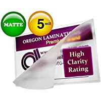 Matte Double Letter Laminating Pouches 5 Mil 11-1/2 x 17-1/2 (Pack of 200) Small Menu