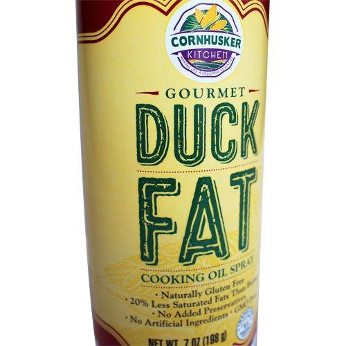 Cornhusker Kitchen's Duck Fat Cooking Oil Spray 7 oz