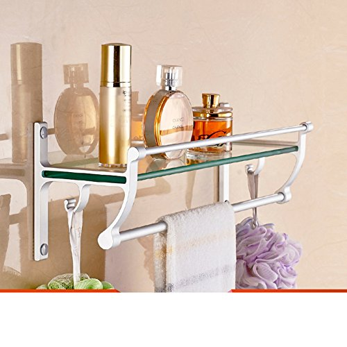 delicate Bathroom racks/ space aluminium storage rack/Toilet wall hanging racks-D
