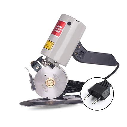 IDABAY Portátil Cuchillo Redondo de Tela Cortador de Producto Textil Eléctrico  Máquina de Cortar de Cuero ba02438c805f