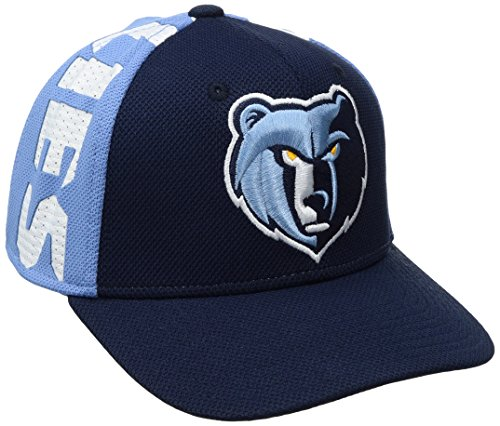 fan products of NBA Memphis Grizzlies Men's City Name Meshback Flex Fit Hat, Navy, Large/X-Large