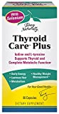 Terry Naturally Thyroid Care Plus with Selenium, Supports Thyroid, Immune and complete Metabolic Function - 60 capsules