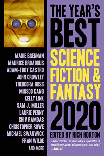Book Cover: The Year's Best Science Fiction & Fantasy 2020 Edition
