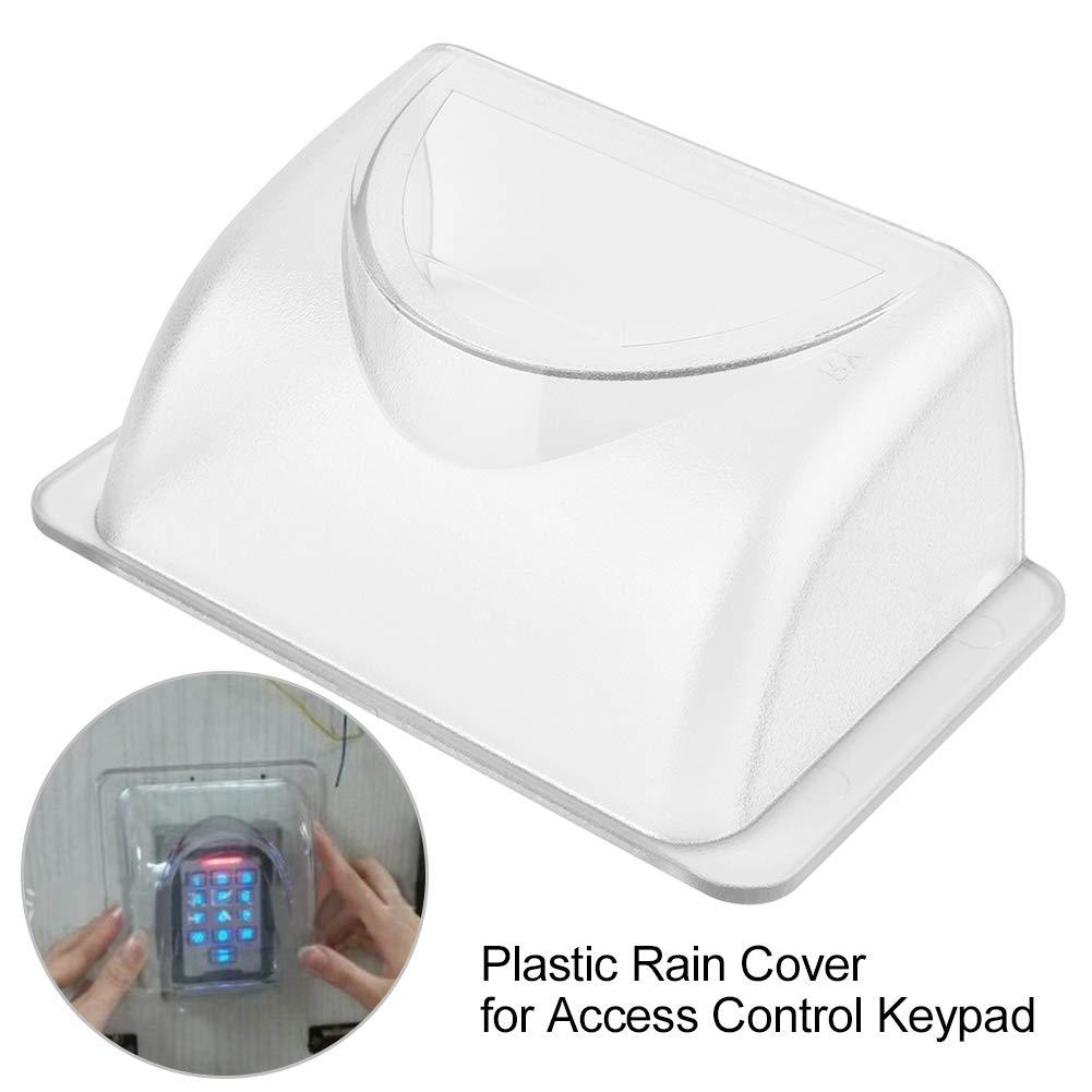 Cubierta Impermeable a Prueba de Lluvia para Controlador de Teclado de Control de Acceso de Puerta Suchinm Cubierta de Lluvia de pl/ástico